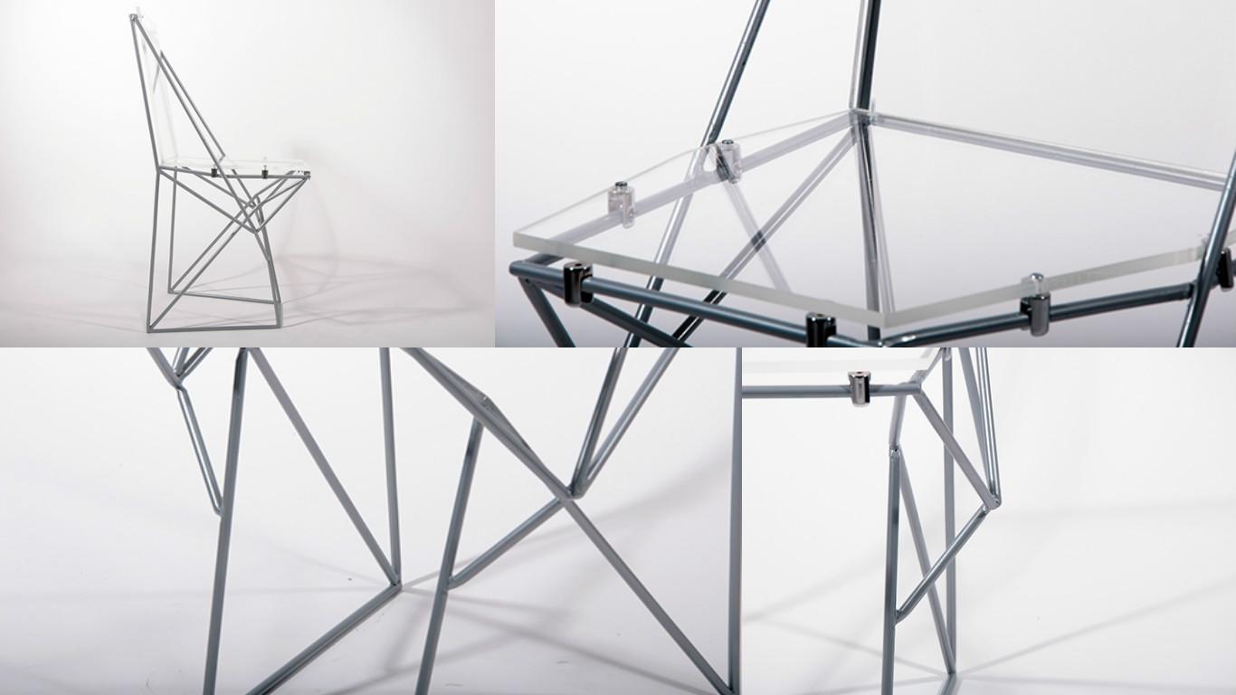 3d-печать металлом — кресло
