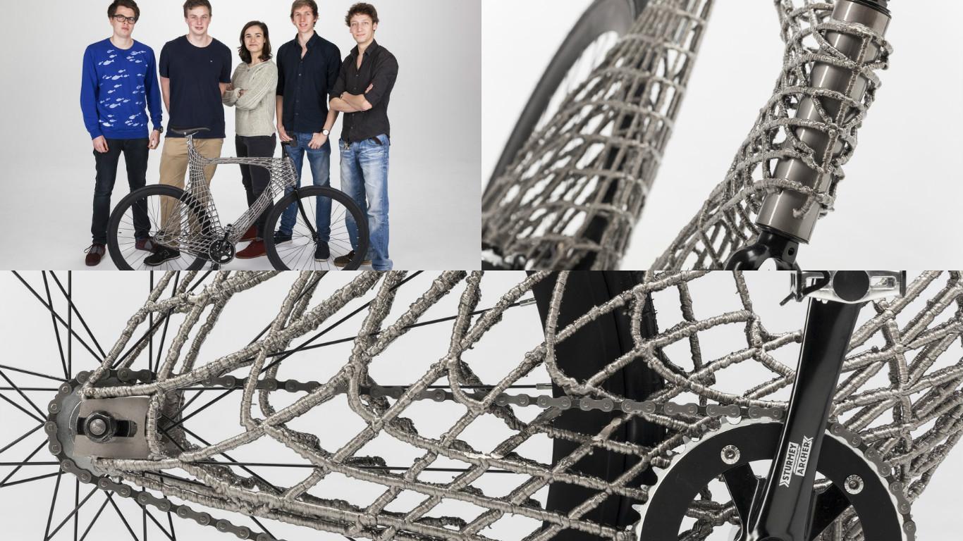 3D-печать металлом велосипеда