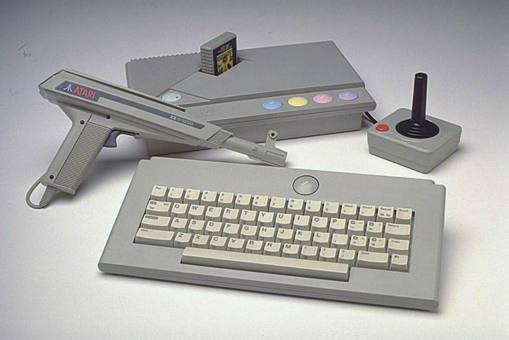 игровой пистолет Atari XE Games System