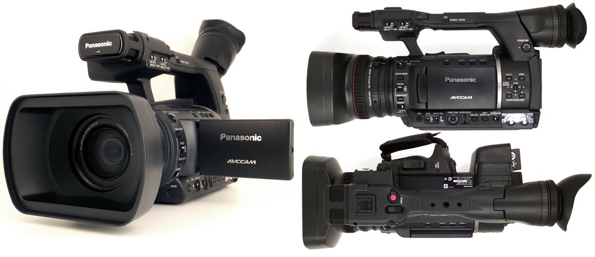 Дизайн профессиональной видеокамеры