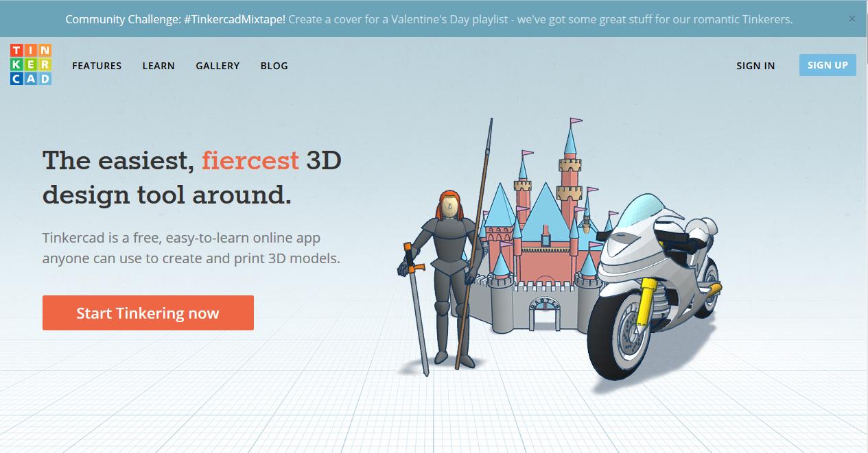 Tinkercad —  сервис для 3D-моделирования