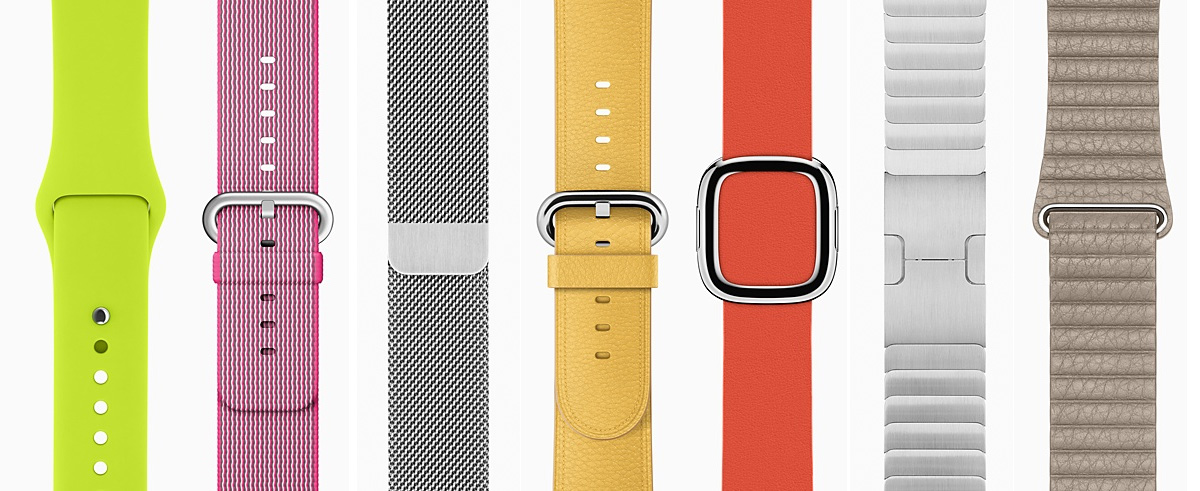 Застежки для ремешков apple iwatch