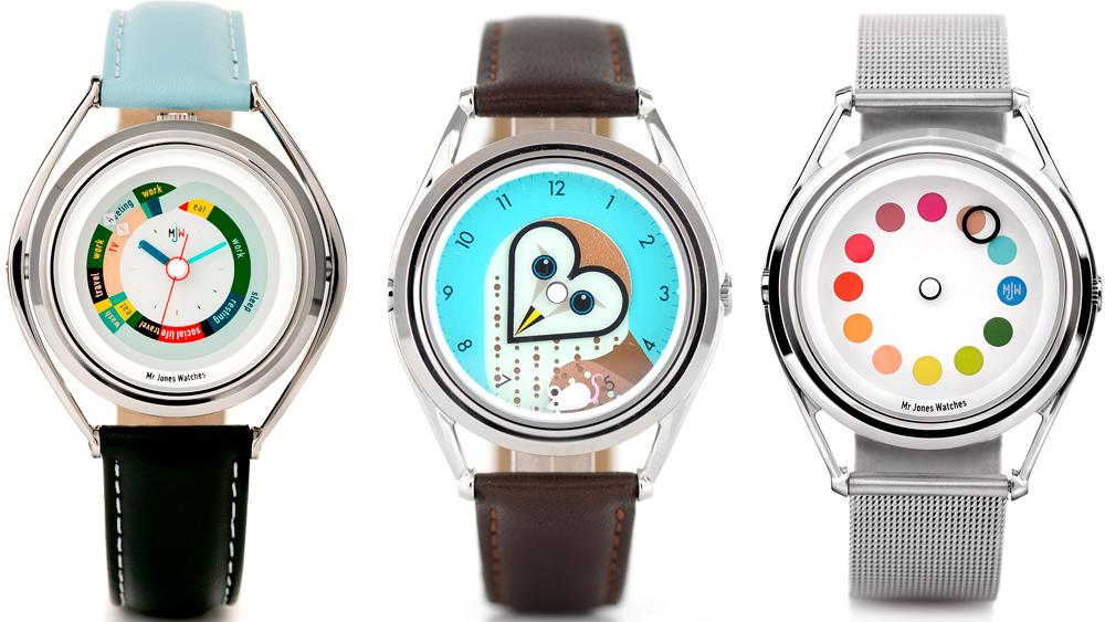 Индивидуальный дизайн наручных часов