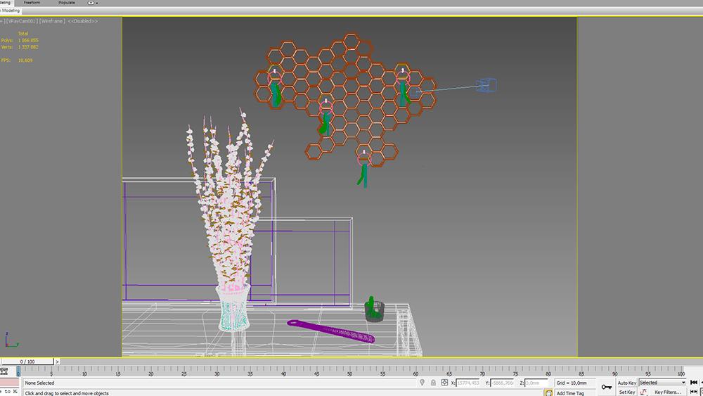 3D-моделирование дизайна ключницы на заказ