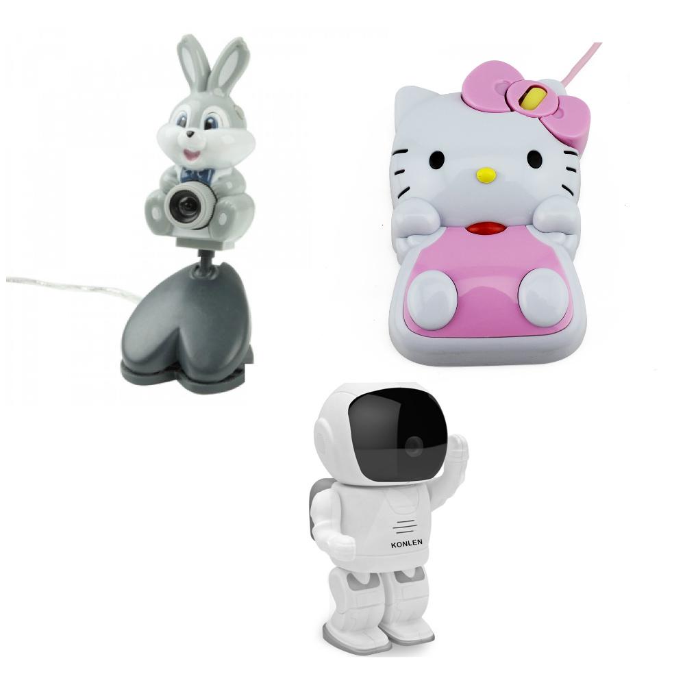 Если вы любите Hello Kitty, можно заказать дизайн вебкамеры даже такого вида