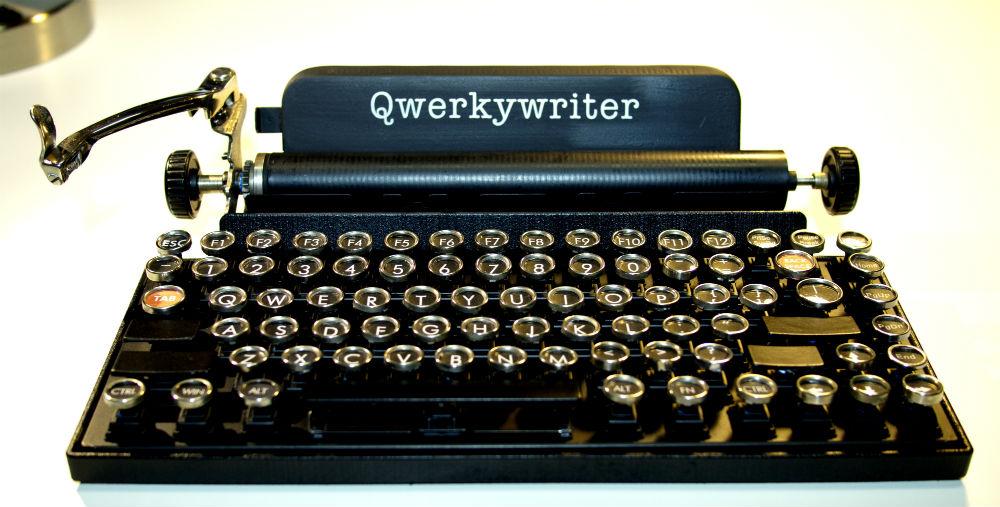 QwerkyWriter - изобретение, изменяющее промышленный дизайн клавиатуры в корне