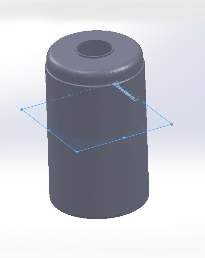 Пластиковая тара 3д модель
