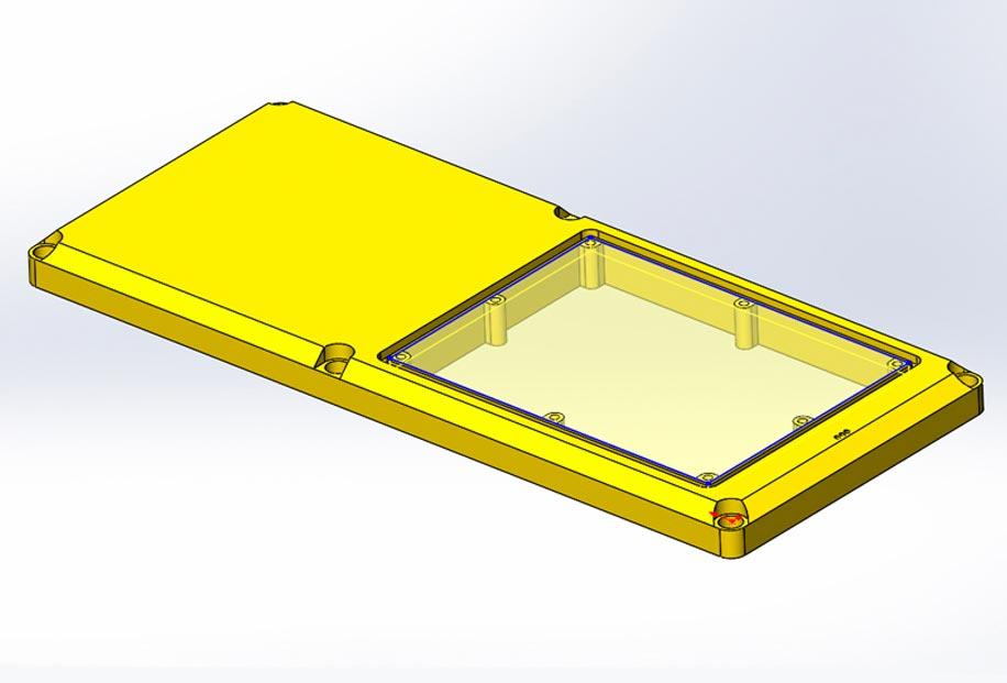 3д модель корпуса прибора