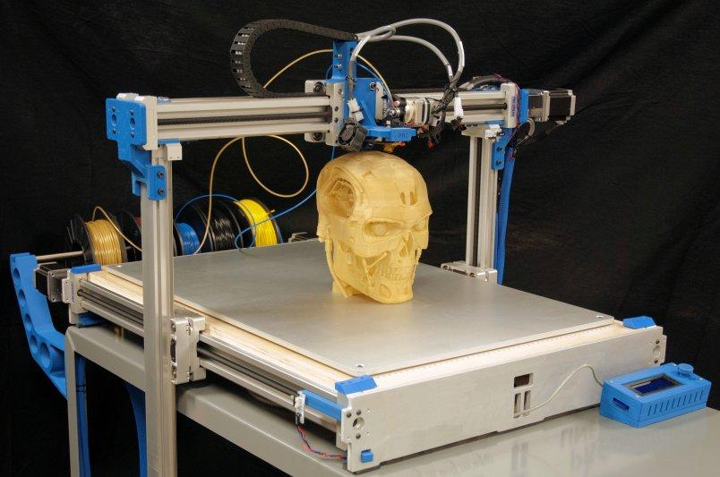 Развитие 3D-печати