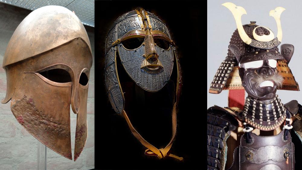История создания шлемов