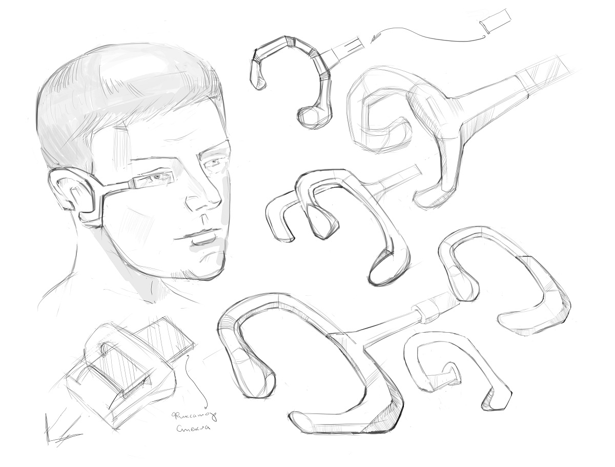Клипса: пример чертежа