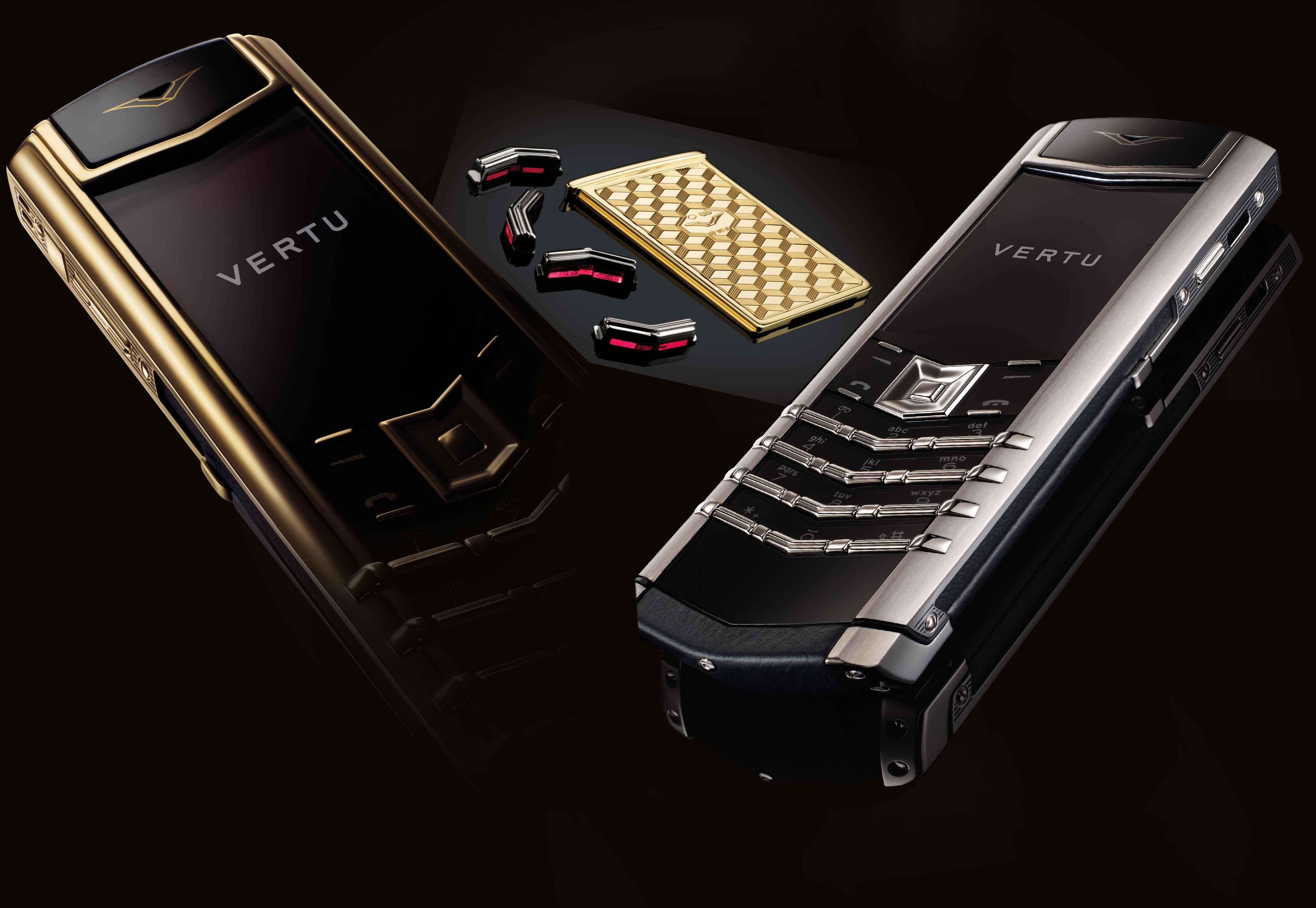 Дизайн телефона vertu